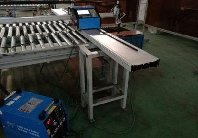 Hobby 1500 * 3000mm σωλήνα CNC πλάσμα μηχάνημα κοπής